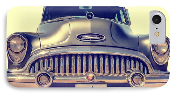 1953 Buick Roadmaster Phone Case by Edward Fielding
