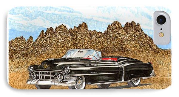 1953 Cadillac Eldorado Biarritz Phone Case by Jack Pumphrey