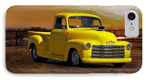 1953 Chevrolet Pick Up 'custom' Truck Phone Case by Dave Koontz
