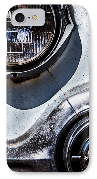 1953 Chevy Headlight Detail IPhone Case by  Onyonet  Photo Studios