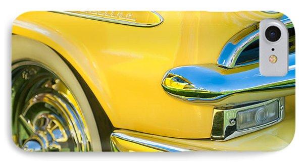 1953 Ford Crestline Convertible Emblem Phone Case by Jill Reger