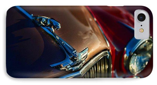 1953 Jaguar Mk7 Phone Case by Paul Ward