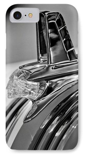 1953 Pontiac Hood Ornament 4 Phone Case by Jill Reger