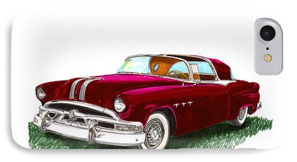 1953 Pontiac Parisienne Concept IPhone Case by Jack Pumphrey