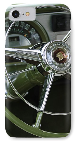 1953 Pontiac Steering Wheel IPhone Case