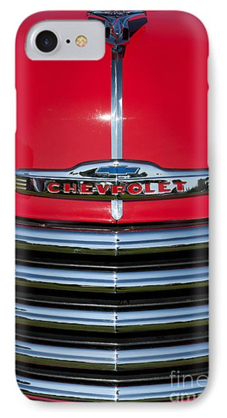 1953 Red Chevrolet 3100 Pickup Phone Case by Tim Gainey