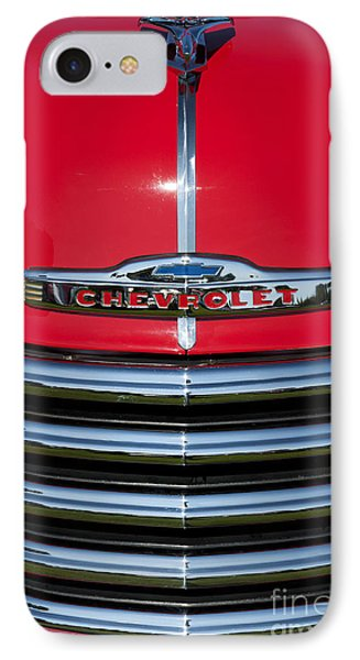 1953 Red Chevrolet 3100 Pickup IPhone Case by Tim Gainey