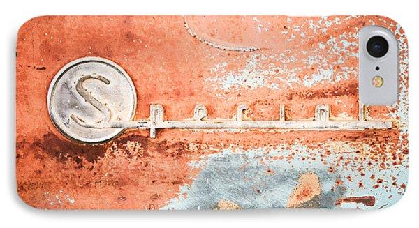 1954 Buick Special Emblem Phone Case by Jill Reger
