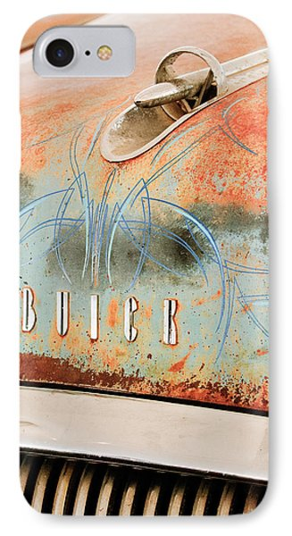 1954 Buick Special Hood Ornament Phone Case by Jill Reger