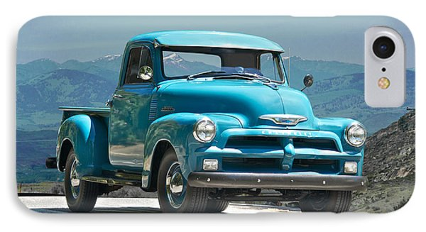 1954 Chevrolet 'down Home' Pick Up Truck IPhone Case