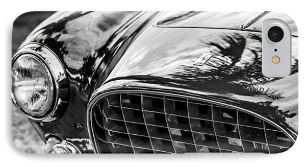 1954 Ferrari Europa 250 Gt Grille -1336bw IPhone Case