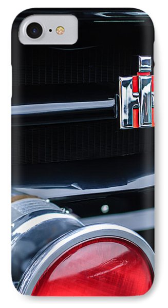 1954 International Harvester R140 Woody Grille Emblem IPhone Case by Jill Reger