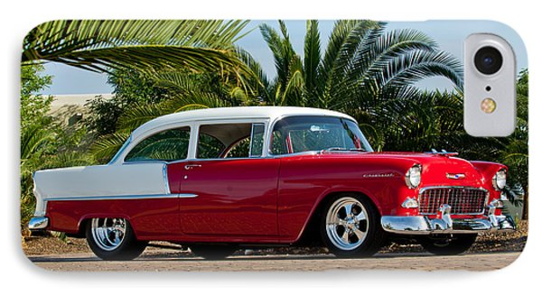 1955 Chevrolet 210 IPhone Case by Jill Reger