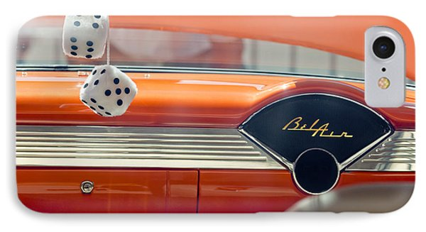 1955 Chevrolet Belair Dashboard Phone Case by Jill Reger