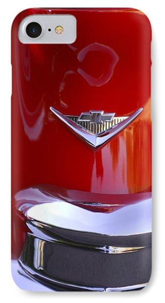 1955 Chevrolet Belair Nomad Emblem Phone Case by Jill Reger