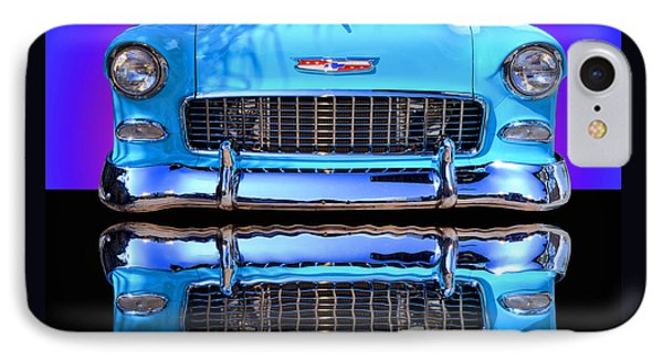 1955 Chevy Bel Air Phone Case by Jim Carrell