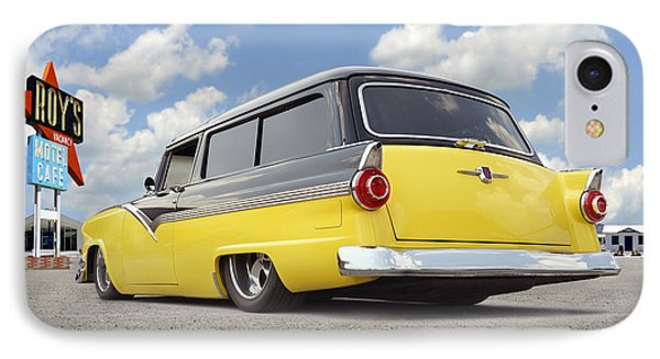 1955 Ford Parkline Low IPhone Case by Mike McGlothlen