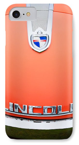 1955 Lincoln Indianapolis Boano Coupe Emblem Phone Case by Jill Reger