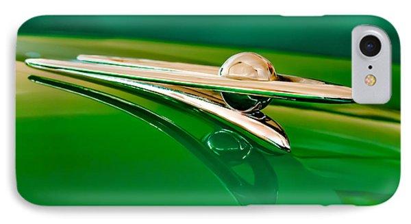 1955 Packard Clipper Hood Ornament 3 Phone Case by Jill Reger