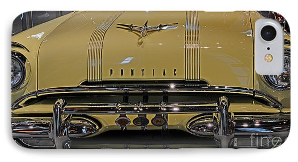 1955 Pontiac Chieftain Front Phone Case by Paul Ward