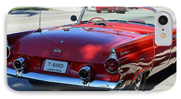 1955 T-bird Phone Case by Laura Fasulo