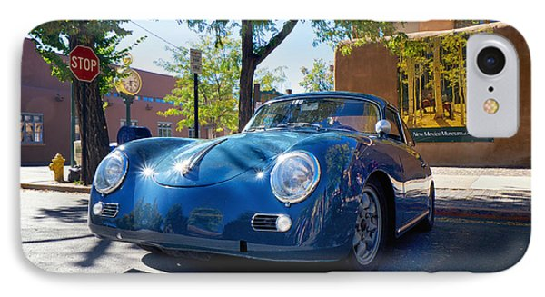 1956 356 A Sunroof Coupe Porsche IPhone Case by Mary Lee Dereske