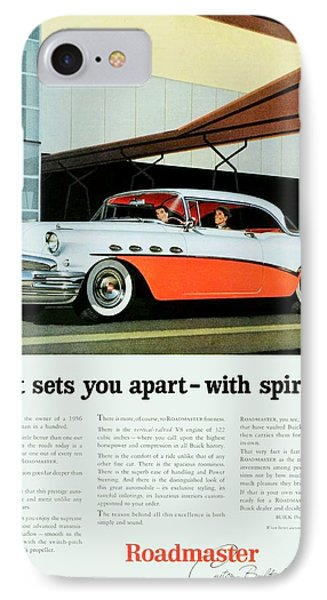 1956 - Buick Roadmaster Convertible - Advertisement - Color IPhone Case