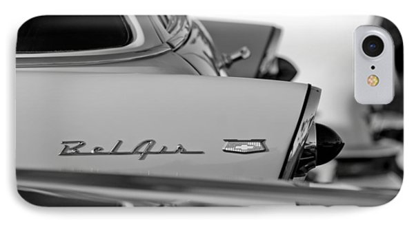 1956 Chevrolet Belair Nomad Rear End Emblem Phone Case by Jill Reger