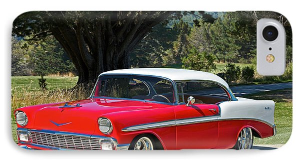 1956 Chevy Bel Air West IPhone Case