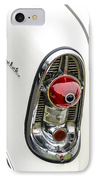 1956 Chevy Taillight Phone Case by Carol Leigh
