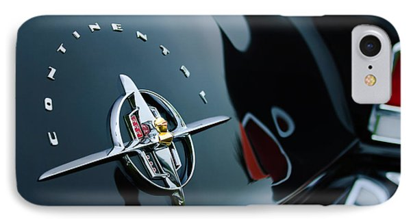 1956 Lincoln Continental Mark II Coupe Rear Emblem IPhone Case