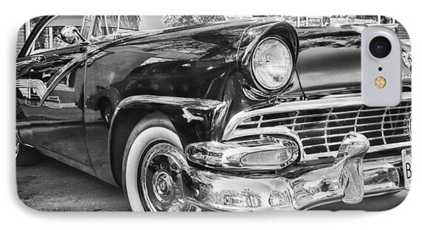 1956 Ford Fairlane IPhone Case by Theresa Tahara
