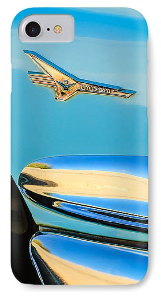 1956 Ford Fairlane Thunderbird Emblem Phone Case by Jill Reger