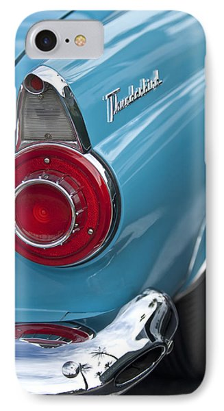1956 Ford Thunderbird Taillight And Emblem IPhone Case