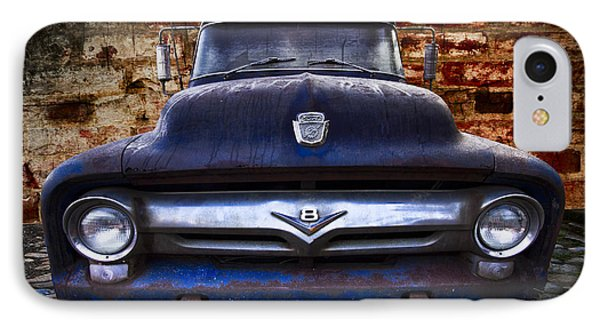 1956 Ford V8 IPhone Case by Debra and Dave Vanderlaan