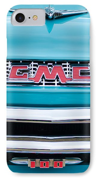 1956 Gmc 100 Deluxe Edition Pickup Truck Phone Case by Jill Reger