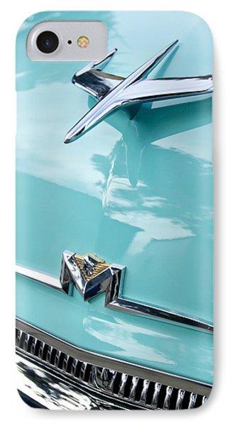 1956 Mercury Monterey Hood Ornament Phone Case by Jill Reger