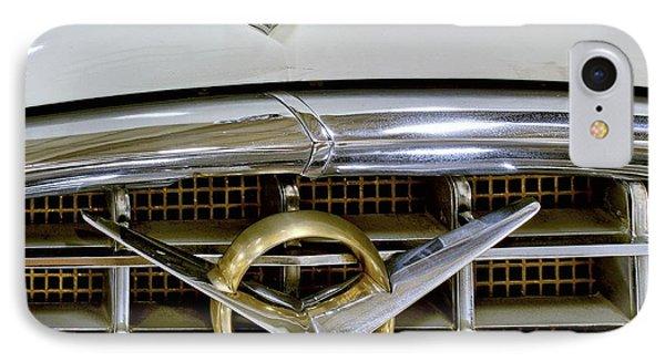 1956 Packard Caribbean Headlight Grill IPhone Case by Michael Gordon