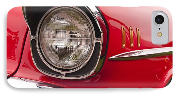 1957 Chevrolet Bel Air Headlight IPhone Case