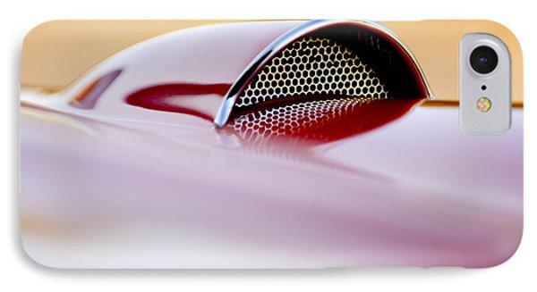 1957 Chevrolet Corvette Convertible Scoop Phone Case by Jill Reger
