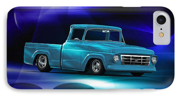1957 Ford F100 Pick Up Phone Case by Dave Koontz