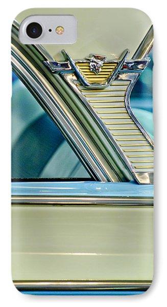 1957 Mercury Monterey Sedan Emblem IPhone Case
