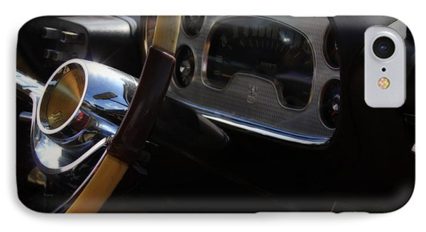 1957 Plymouth Fury   IPhone Case by Steven  Digman