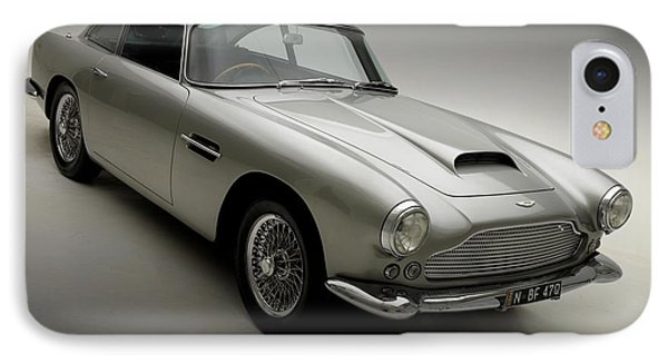 IPhone Case featuring the photograph 1958 Aston Martin Db4 by Gianfranco Weiss