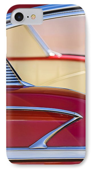 1958 Chevrolet Belair Abstract IPhone Case