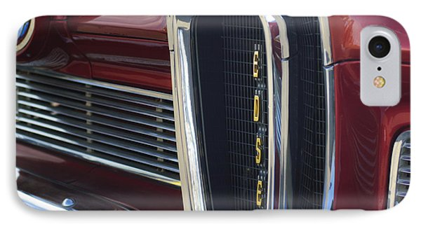 1958 Edsel Pacer Grille 2 Phone Case by Jill Reger