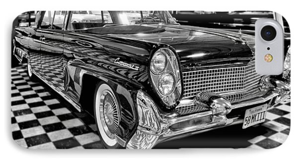 1958 Lincoln Continental Mk IIi IPhone Case by Michael Gordon