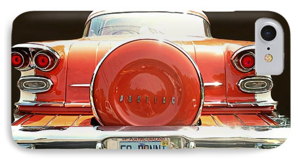 1958 Pontiac Bonneville IPhone Case by Diana Angstadt