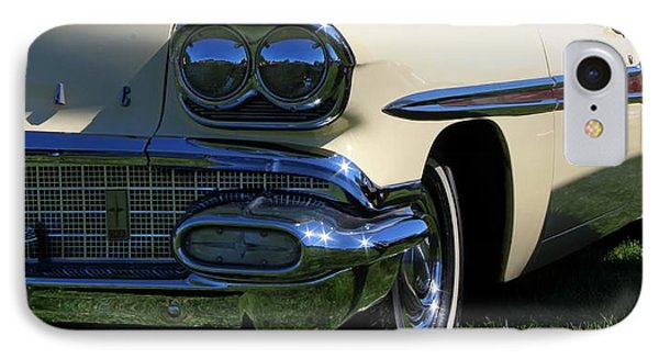 1958 Pontiac Strato Chief Phone Case by Davandra Cribbie