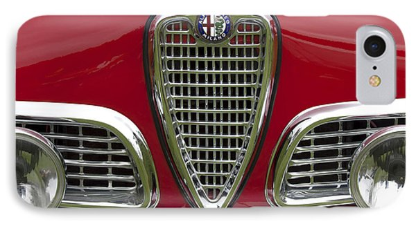1959 Alfa Romeo Giulietta Sprint Grille IPhone Case by Jill Reger